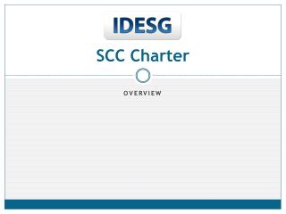 SCC Charter