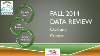 Fall 2014  Data Review