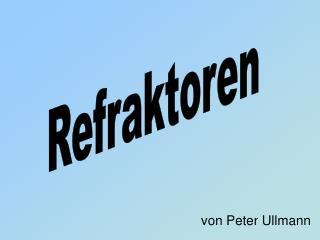 von Peter Ullmann