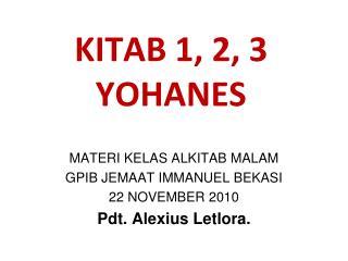 KITAB 1, 2, 3 YOHANES