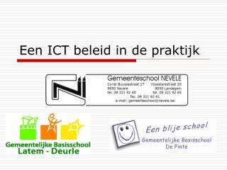 Een ICT beleid in de praktijk