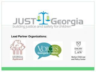 Lead Partner Organizations: