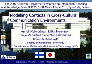 Modelling Contexts in Cross-Cultural Communication Environments
