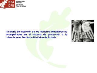 DIPUTACION FORAL DE BIZKAIA SERVICIO TERRITORIAL ESPECIALIZADO DE PROTECCION A LA INFANCIA