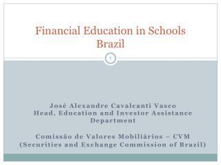Financial Education in Schools Brazil