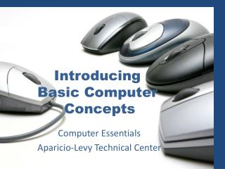 Introducing  Basic Computer  Concepts