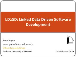 LD2SD: Linked Data Driven Software Development