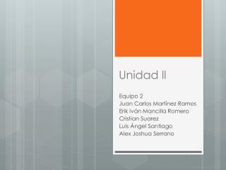 Unidad ll