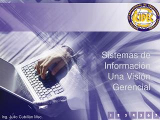 Sistemas de Informaci�n Una Visi�n Gerencial