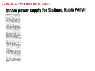 01.10.2011, New Sabah Times, Page 6