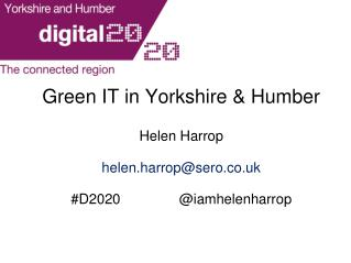 Green IT in Yorkshire & Humber