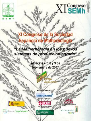 Albacete – 7, 8 y 9 de Noviembre de 2007