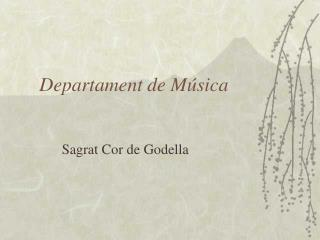 Departament de M�sica