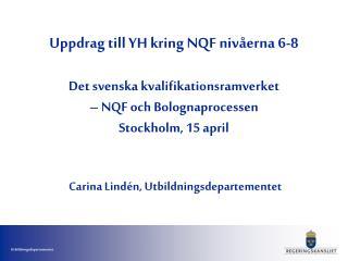 Nationell implementering av EQF - det offentliga utbildningssystemet