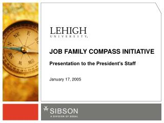 JOB FAMILY COMPASS INITIATIVE