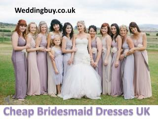 inexpensive bridesmaid dress UK