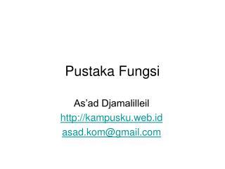 Pustaka Fungsi