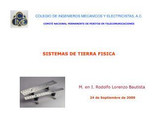 COLEGIO DE INGENIEROS MECANICOS Y ELECTRICISTAS, A.C.