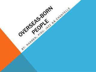 Overseas-born people
