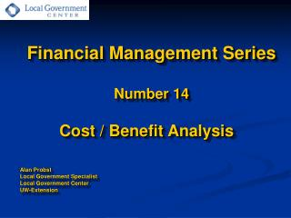 Financial Management Series  Number 14