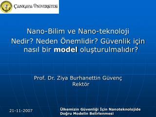 Nano-Bilim ve Nano-teknoloji