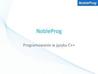 NobleProg