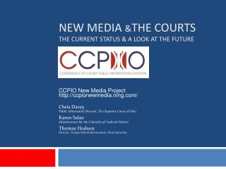 NEW MEDIA  & THE COURTS THE CURRENT STATUS & A LOOK AT THE FUTURE
