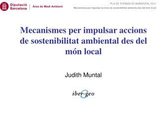 Judith Muntal
