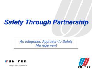Safety Through Partnership