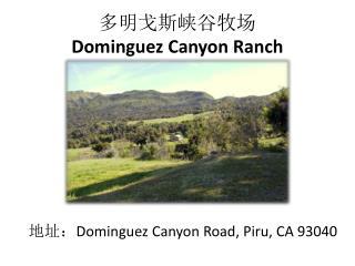 多明戈斯峡谷牧场 Dominguez Canyon Ranch