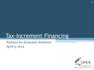 Tax-Increment Financing