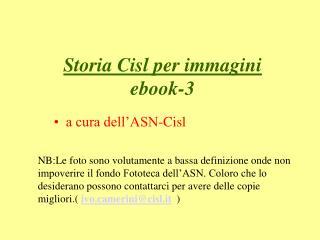 Storia Cisl per immagini ebook-3