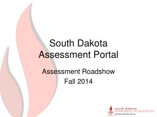 South Dakota Assessment Portal