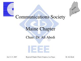 Communications Society Maine Chapter