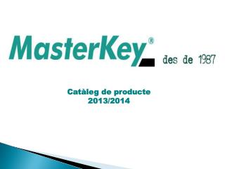 Catàleg  de  producte 2013/2014