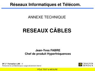 Réseaux Informatiques et Télécom.