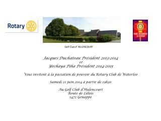 Golf Club d� HULENCOURT