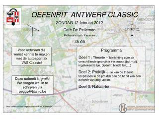 OEFENRIT  ANTWERP CLASSIC