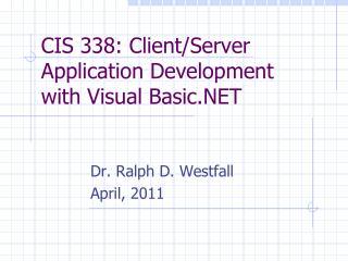 CIS 338: Client