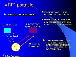 XRF* portatile