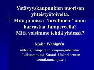 Maija Wahlgrén