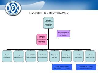 Haderslev FK – Bestyrelse 2012
