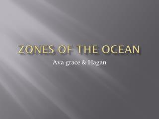 Zones Of The Ocean