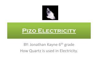Pizo Electricity