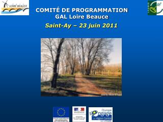 COMITÉ DE PROGRAMMATION GAL Loire Beauce