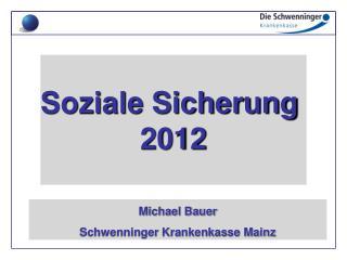 Soziale Sicherung  2012