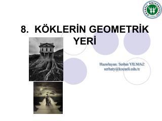 8.  K KLERIN GEOMETRIK YERI