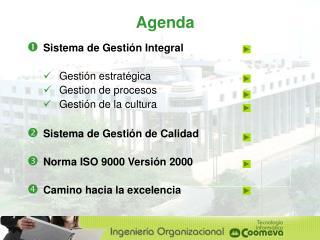 Sistema de Gestión Integral Gestión estratégica Gestion de procesos Gestión de la cultura