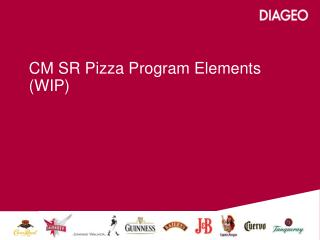 CM SR Pizza Program Elements (WIP)