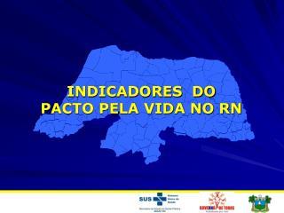 INDICADORES  DO  PACTO PELA VIDA NO RN